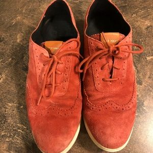 Cole Haan Suede Women's Fashion Shoes Size 9.5B